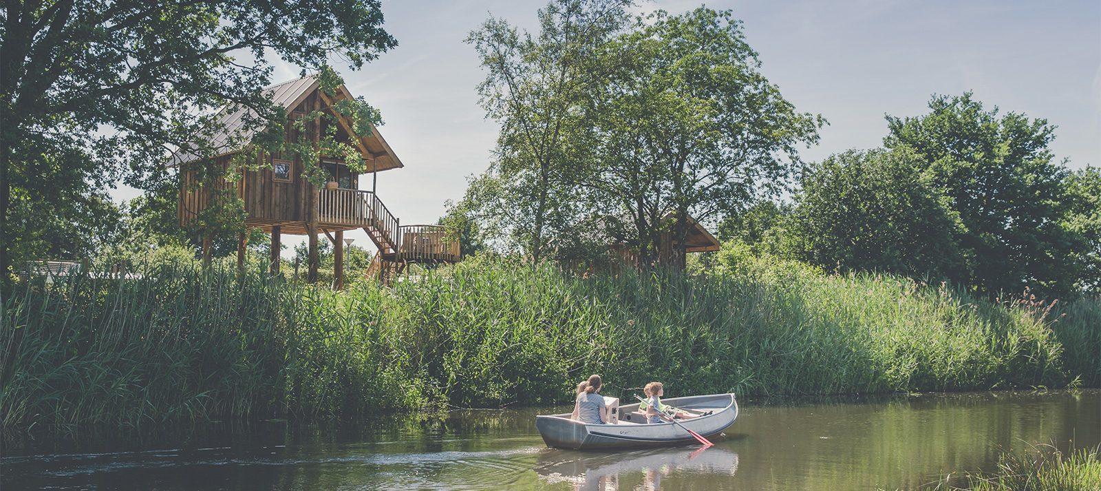 vakantiepark aan het water overijssel