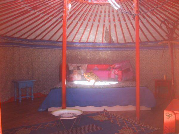 Interieur Yurt