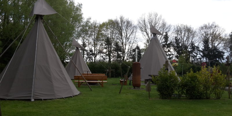 Tipi-camping 't Uilenest