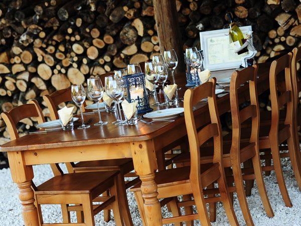 Diner bij Kimaro Farmhouse