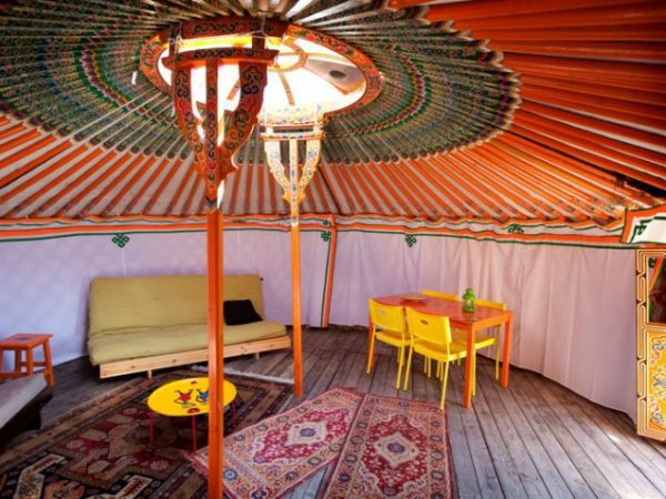 MorvanVakanties Yurt