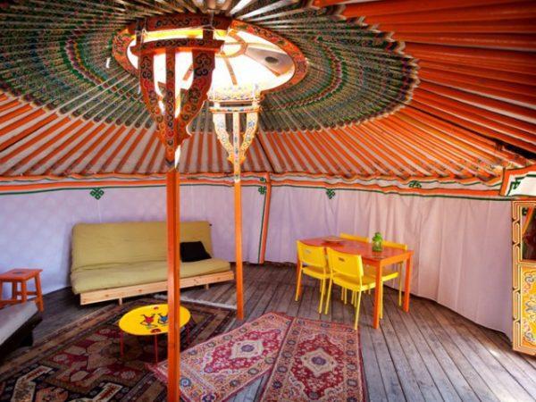 MorvanVakanties Yurt