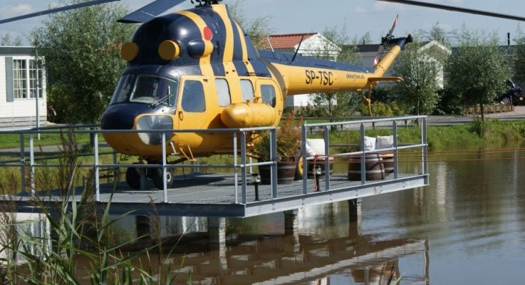 Slapen in een helikopter - 't Akkertien
