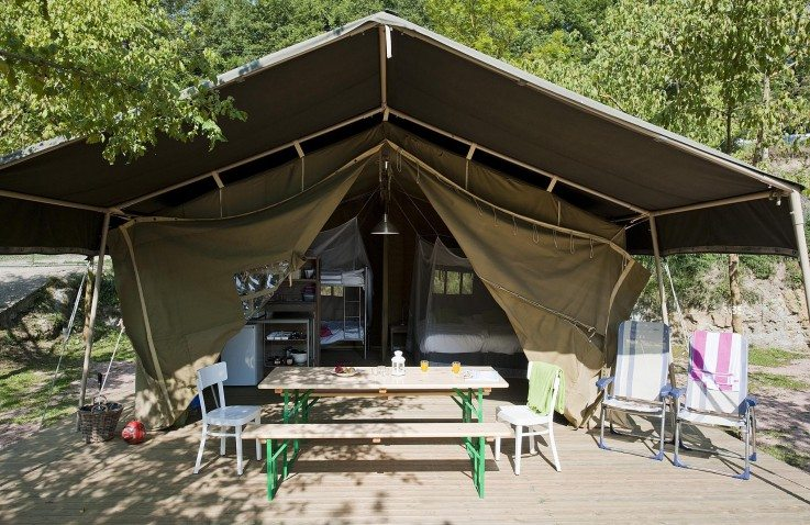 Luxe safaritenten Spanje   Camping Rupit   Catalonië
