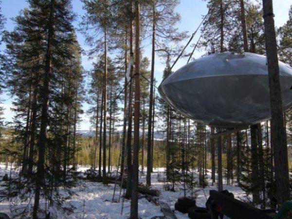 Treehotel-Zweden-ufo