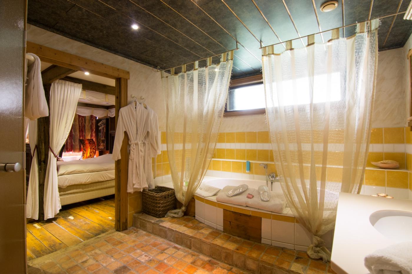 hotelkamer met prive wellness