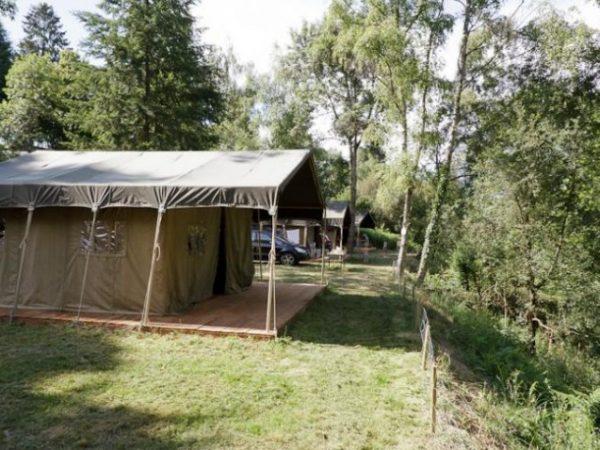 luxe safaritenten cing les chelles auvergne frankrijk supertrips