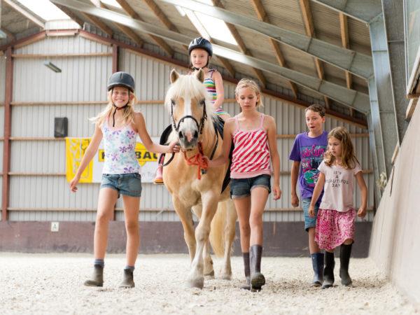 Paardrijden tijdens de vakantie