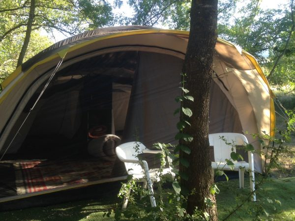 Tent in Frankrijk