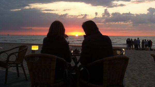 Dineren-strand