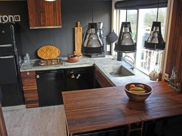 Recycled Treehouse keuken