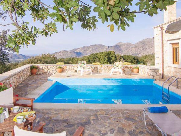 Zwembad met uitzicht
