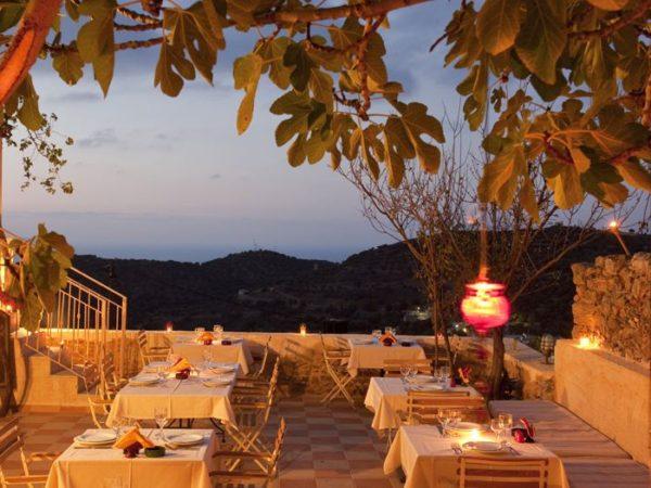 Restaurant met prachtig uitzicht