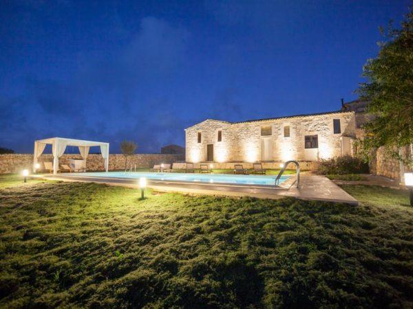 Vakantiehuis met zwembad Contrada Giubiliana