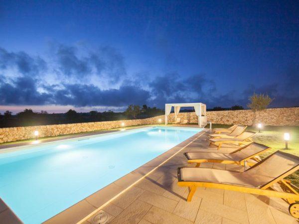 Vakantiewoning met zwembad Contrada Giubiliana