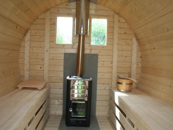 Sauna wellnessvakantiehuisje