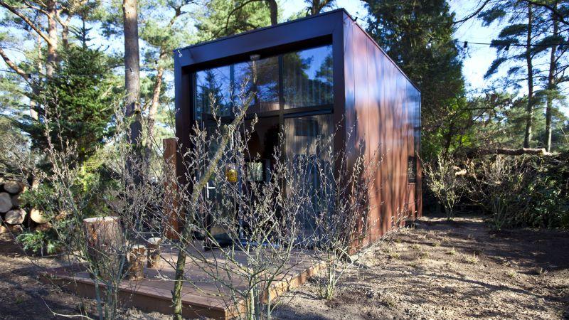 tiny houses otterlo droompark de zanding veluwe supertrips. Black Bedroom Furniture Sets. Home Design Ideas