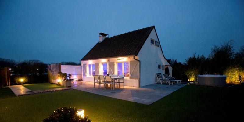 vakantiehuis belgië met jacuzzi