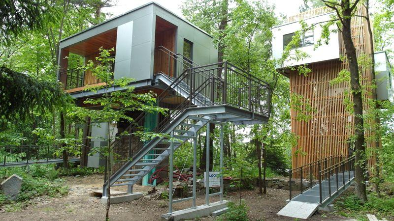 Baumhaus Lodge Schrems Oostenrijk Supertrips Nl