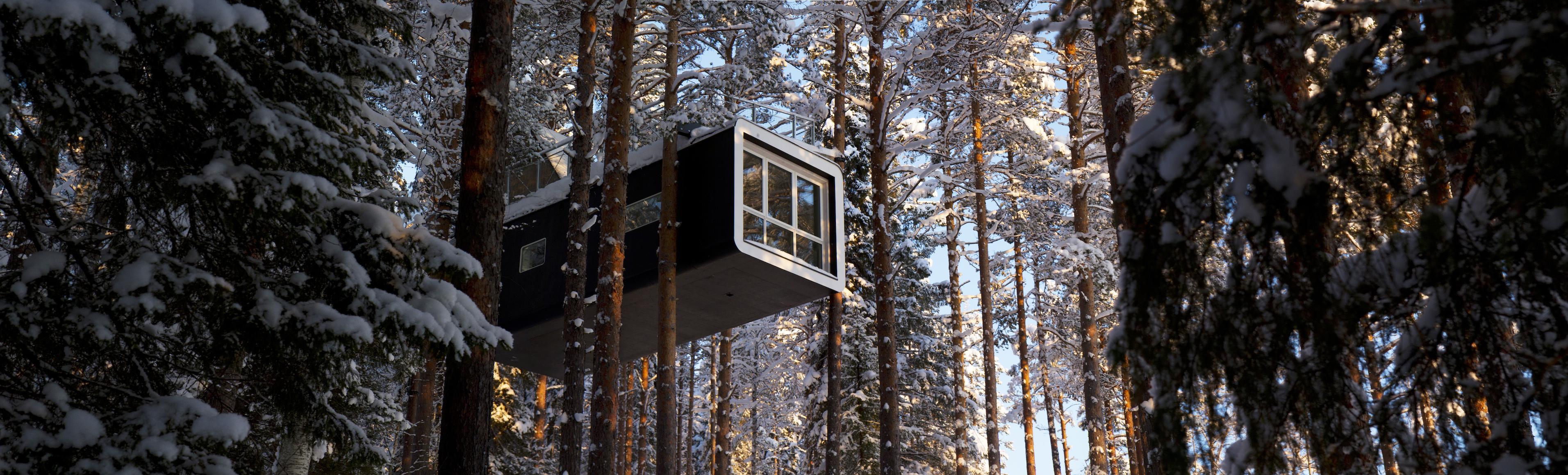 Supertrips - Natuurhuisjes in Zweden