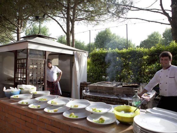 Eetgelegenheid-camping-Union-Lido-Venetië