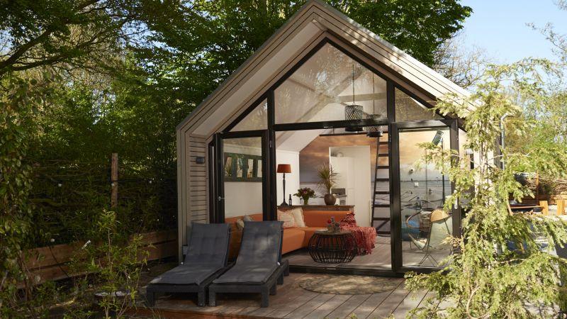 Tiny house droompark badhoophuizen veluwe for Tiny house schweiz