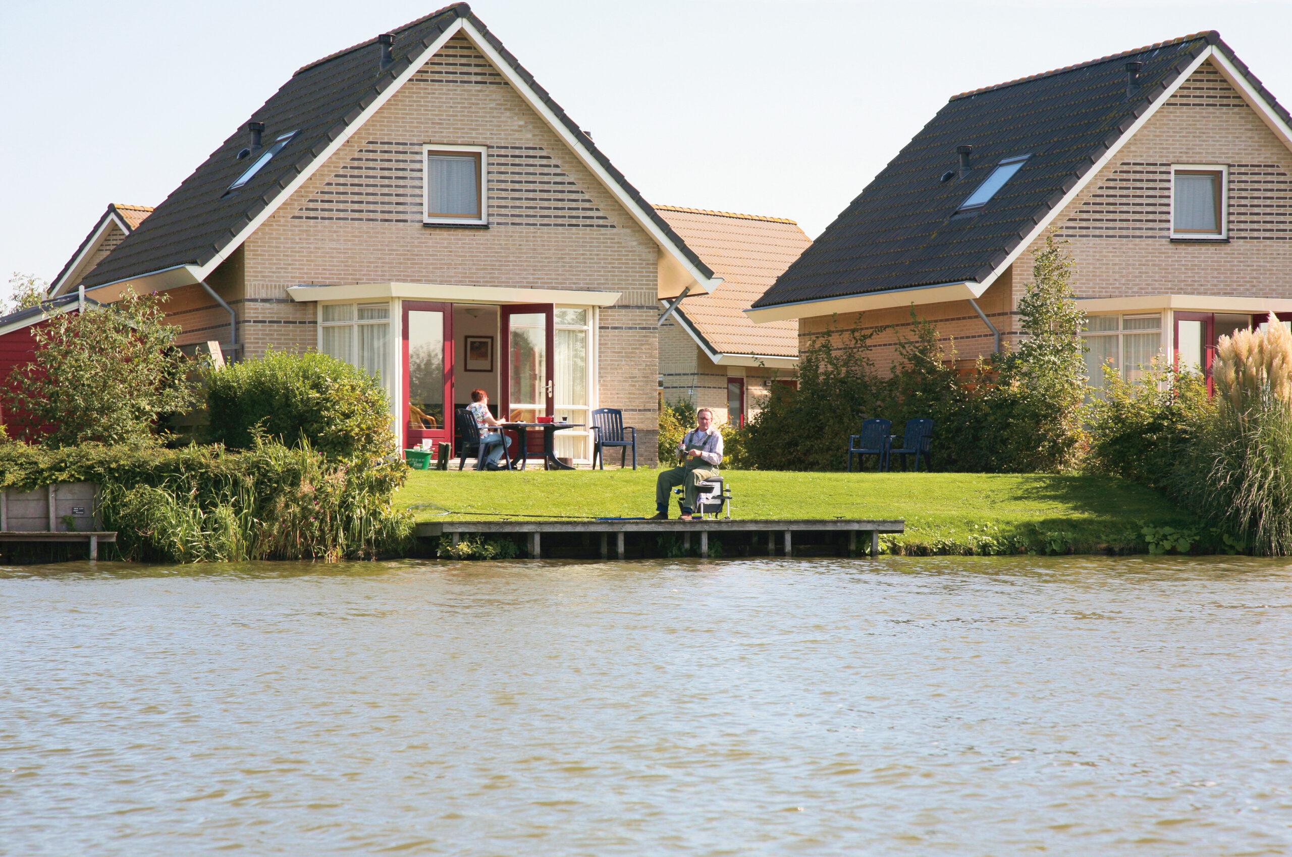 visvakantie nederland met huisje