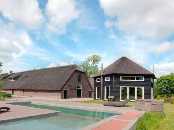 groepsvilla met zwembad utrecht