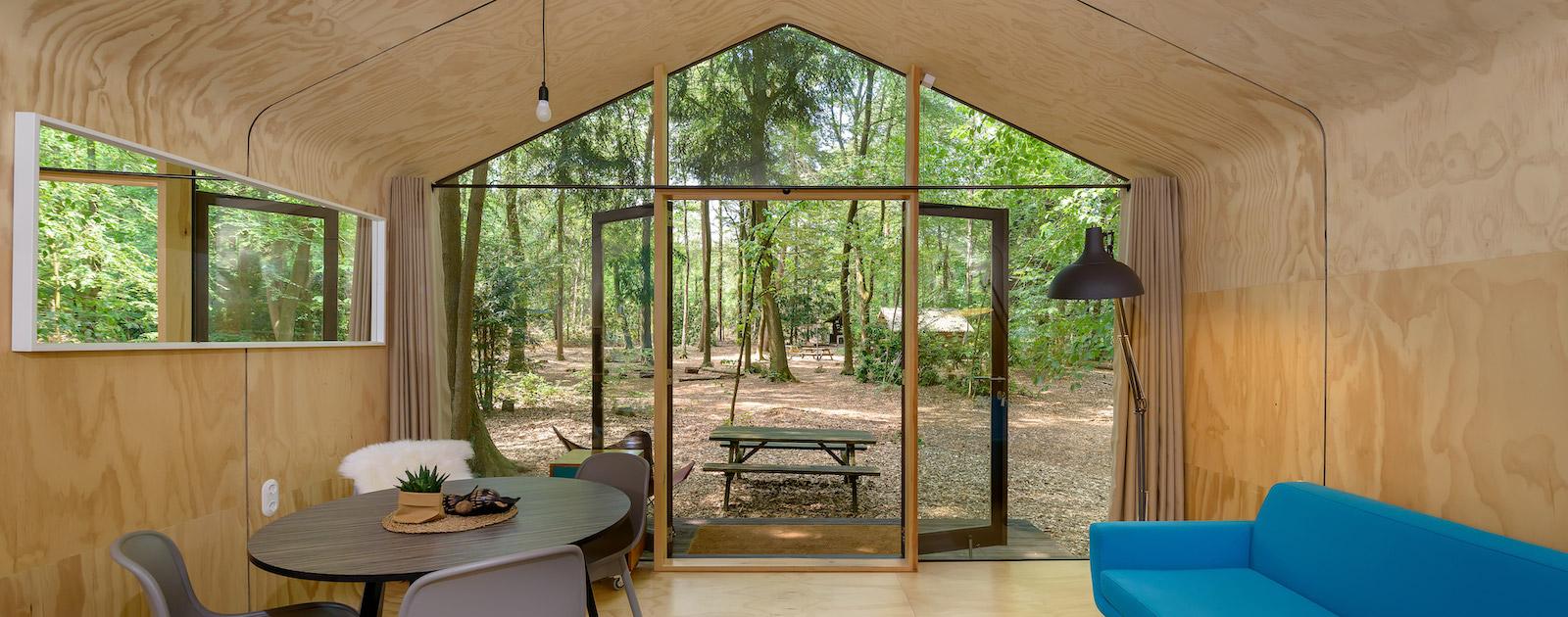 Supertrips - Natuurhuisje in het bos