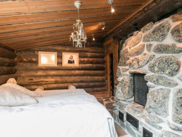 finland-lapland-natuurhuisje-slaapkamer4:lodge