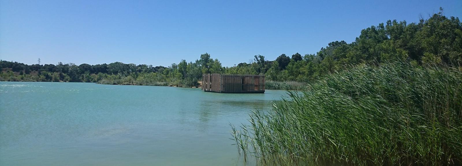 Supertrips - Drijvende hut in de Vaucluse