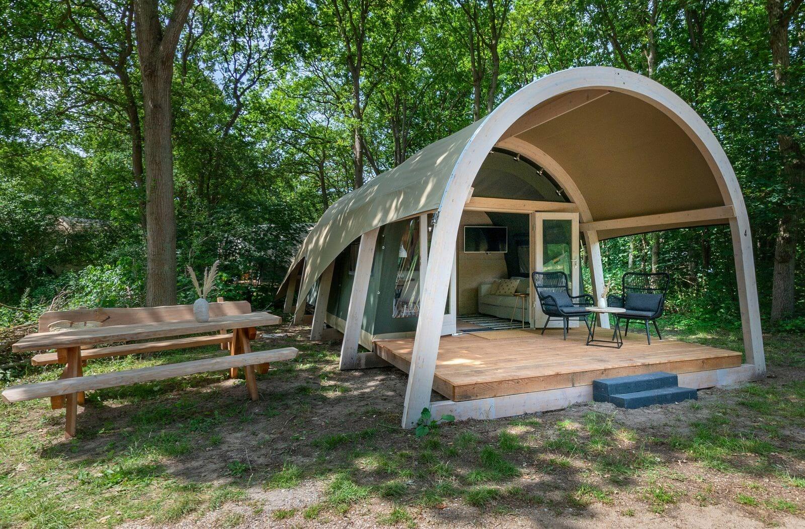 Supertrips - Glamping tenten in Enter