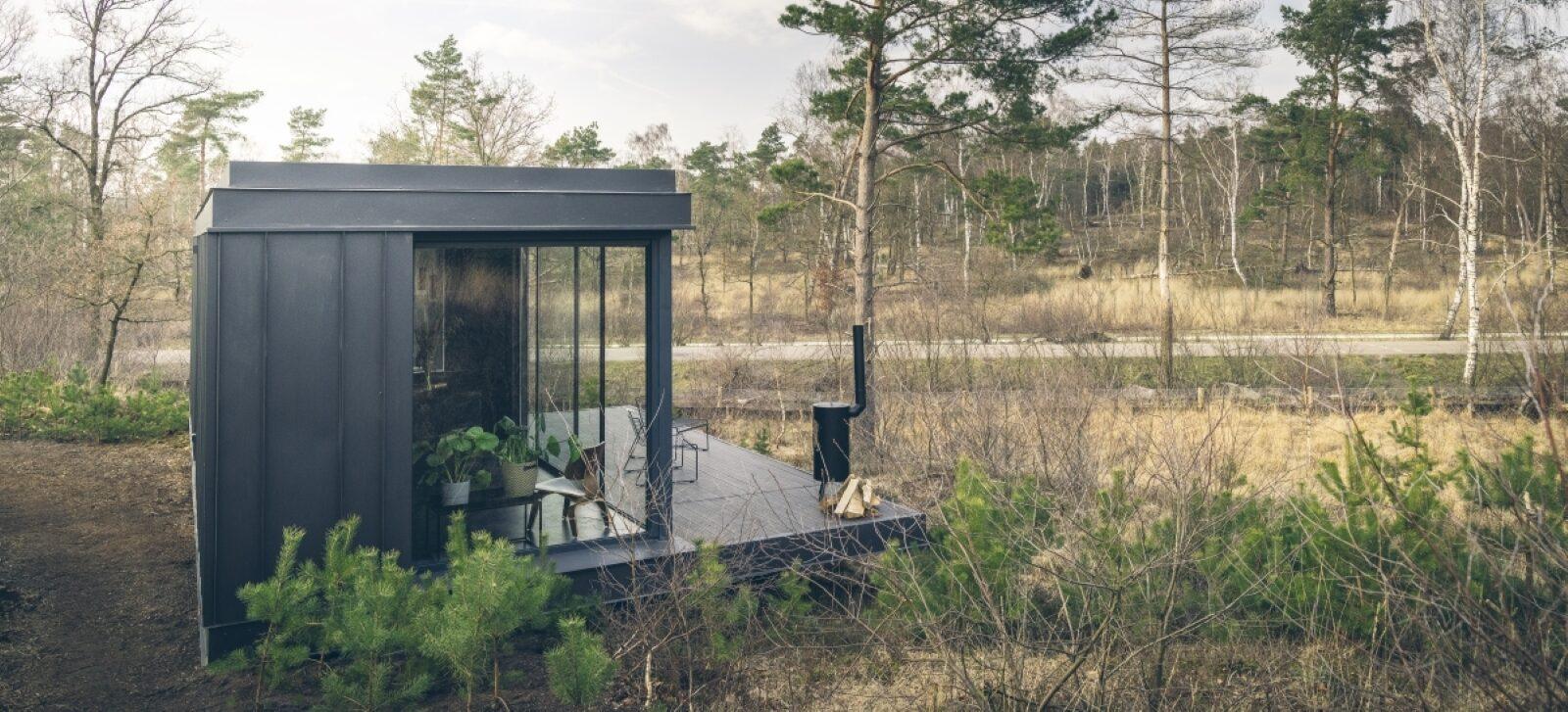Supertrips - Innovatief vakantiehuisje midden in de natuur
