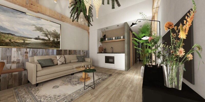 type-4-persoons-luxe-appartement-overnachting-nederland