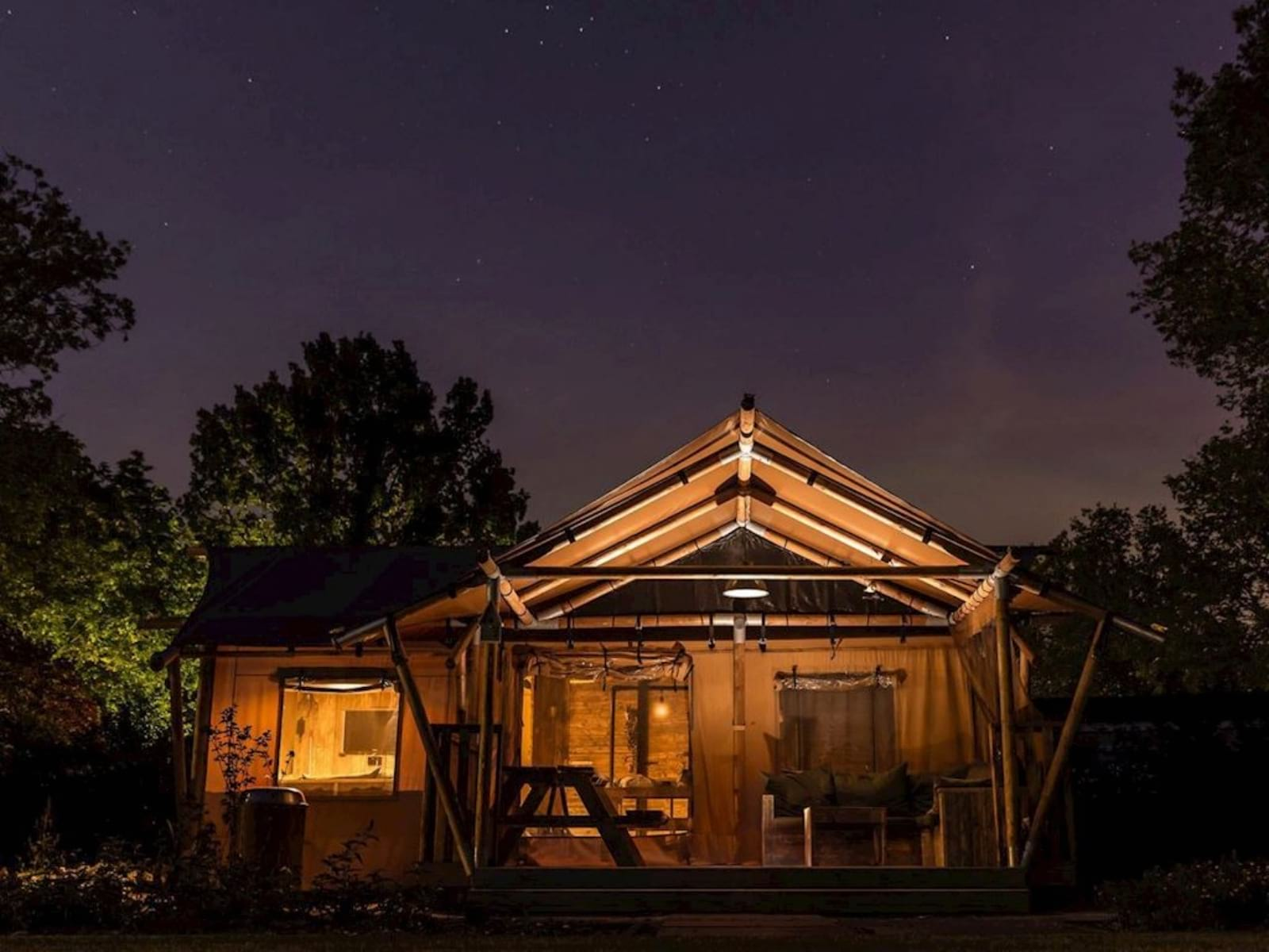 Supertrips - Glamping overnachting in 't Gooi
